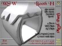 WSW Booth II - 12 LI - FULL PERMS Mesh