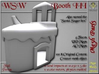WSW Booth III - 12 LI - FULL PERMS Mesh