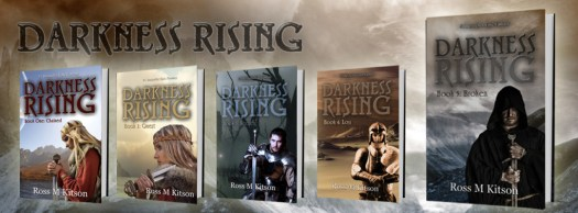 Ross Kitson Five Darkness Rising