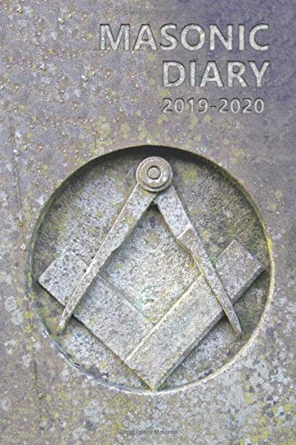Masonic Diary 2019-2020: Freemason Diary for 2019-2020, Week to View (September to August) Planner (4×6 inch) (Clark Masonic Diaries)