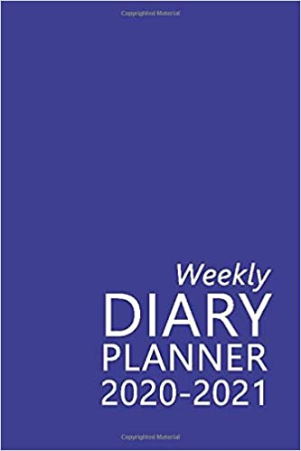 Weekly Diary Planner 2020-2021: The 16 Month Blue Mini Large Print Diary for 2020-2021, Week to View (September 2020 to December 2021) Planner (4×6 inch) (Large Print Mini Diaries 2020-2021) Paperback – Large Print, 7 Mar. 2020