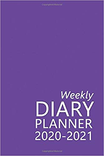 Weekly Diary Planner 2020-2021: The 16 Month Purple Mini Large Print Diary for 2020-2021, Week to View (September 2020 to December 2021) Planner (4×6 inch) (Large Print Mini Diaries 2020-2021)