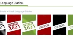 Welsh diaries added to Welsh language selection