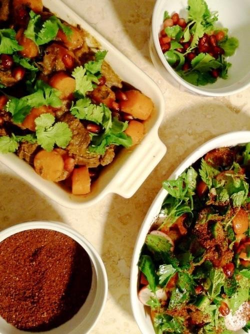Harissa Beef Stew