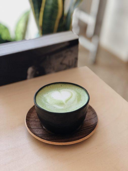 Matcha Green Tea Almond Latte