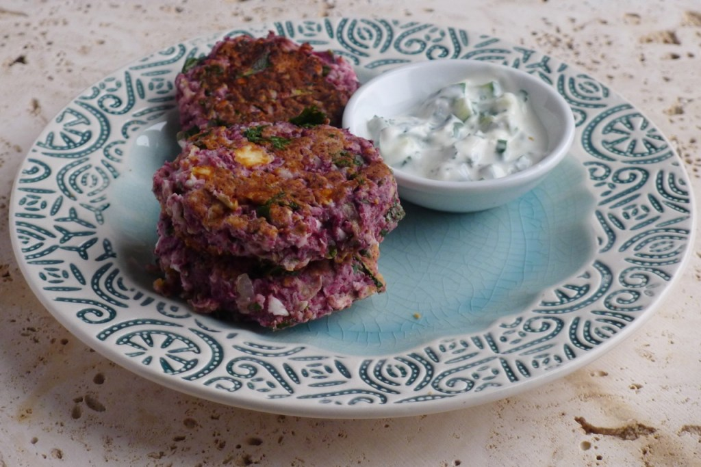 Gluten Free Courgette Sumac Fritters
