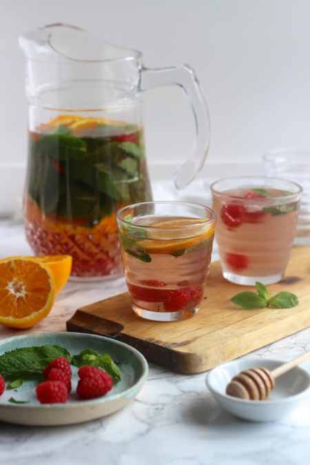 Iced Berry Tea Cooler