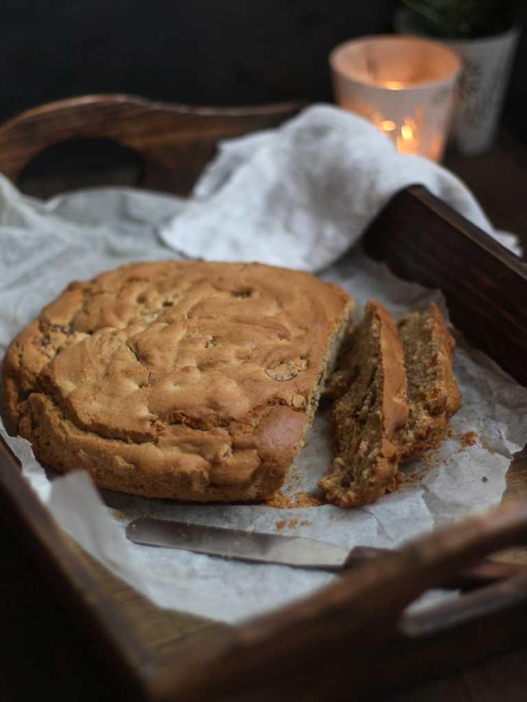 Pandolce genovese, Christmas, Gluten Free, Free From fairy, Wholegrain flour, baking, Italy