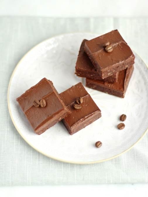 Cacao Espresso No Bake Brownies