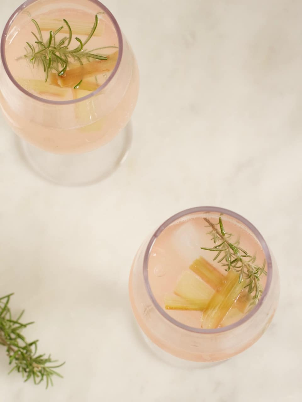 Rhubarb Cordial & Tonic | Ceri Jones Chef