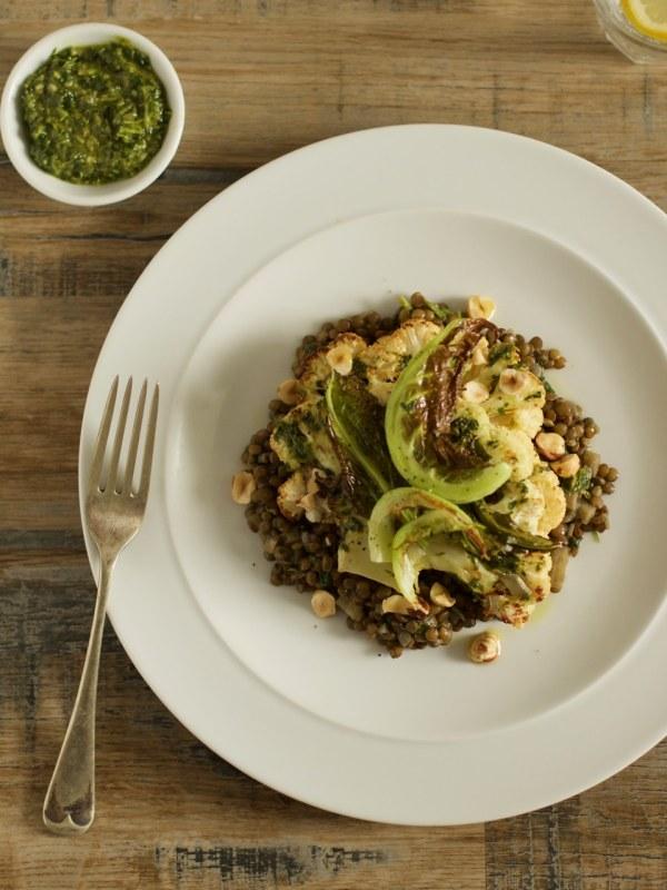 Cauliflower Steak | Ceri Jones Chef