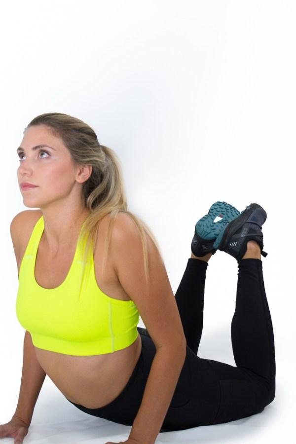Cerinic Adventurer sports bra in sun glare Cerinic-Activewear for the adventurer sustaining an empowered life