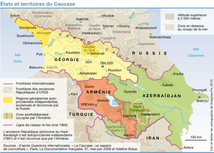 """Résultat de recherche d'images pour """"carte caucase"""""""