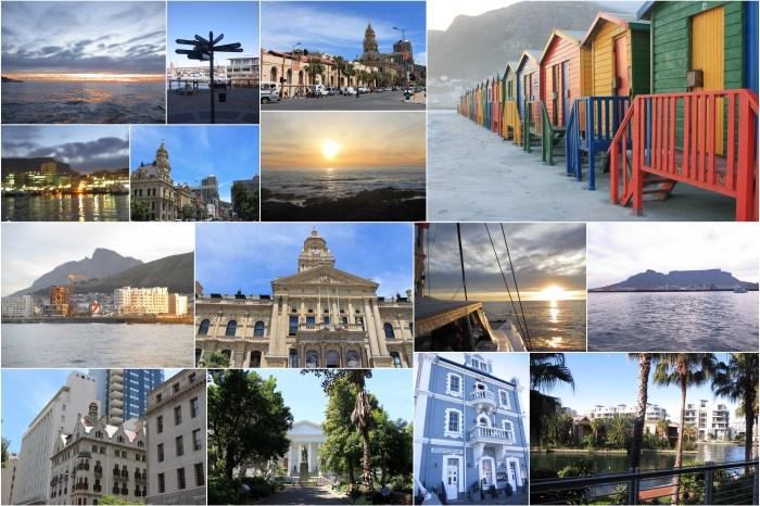 La marina du Cap et le centre-ville