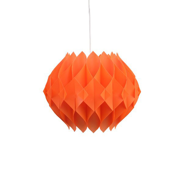 LUMINAIRE ORIGAMI ORANGE