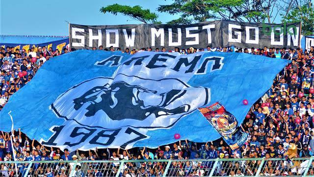 Aremania dan Eks Pemain Siap Bikin Stadion Aji Imbut Seperti Kandang Arema