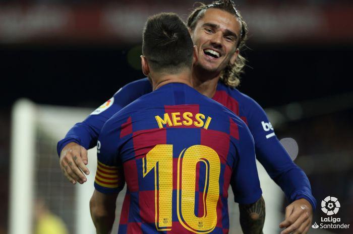 Hubungan Griezmann dan Messi di Barcelona 'Sedang Dalam Proses'