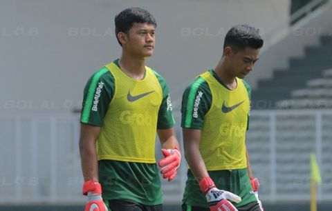 Antara 2 Kiper Timnas Indonesia U-22 di SEA Games 2019
