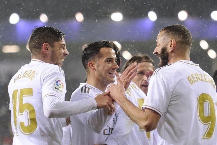 Hasil Pertandingan Eibar vs Real Madrid: 0-4