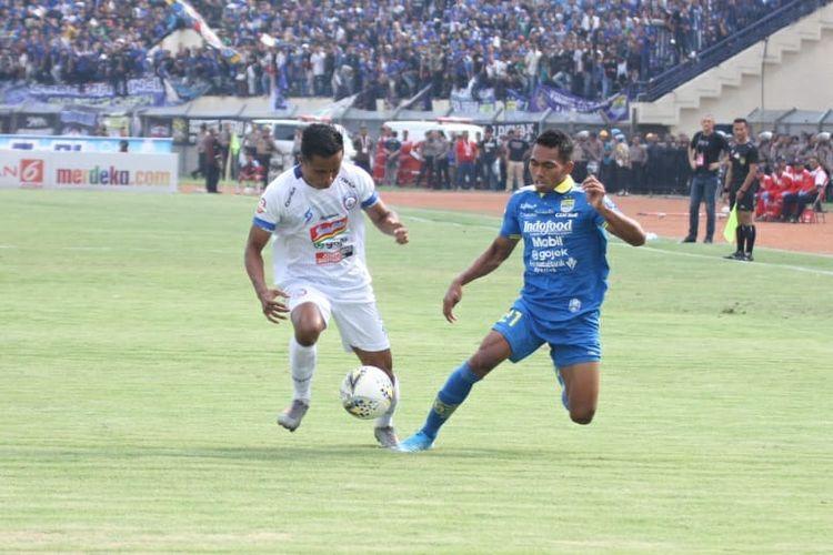 Hasil Pertandingan Persib Bandung vs Arema FC: 3-0