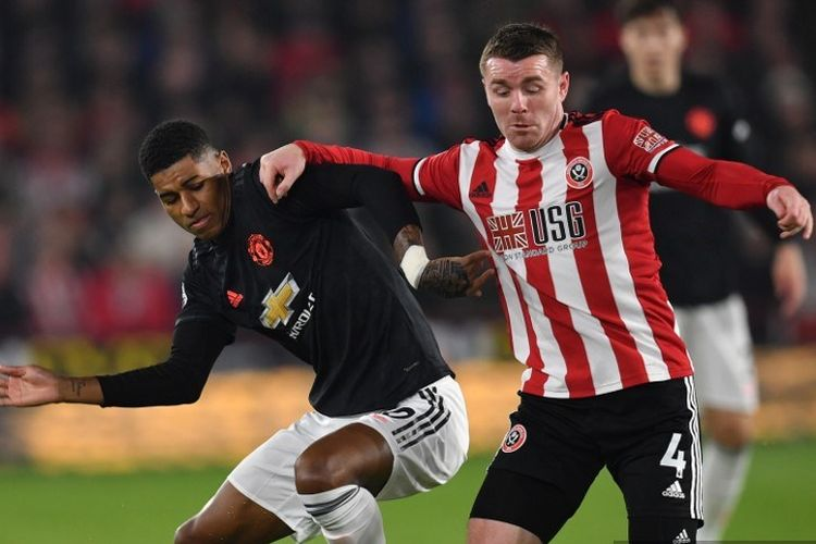 Hasil Pertandingan Sheffield United vs Manchester United: Skor 3-3