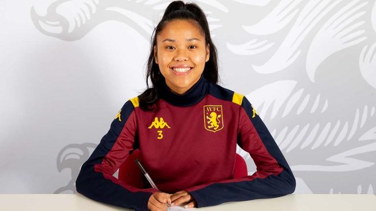 Aston Villa Women:  Asmita Ale menandatangani kontrak profesional pertama