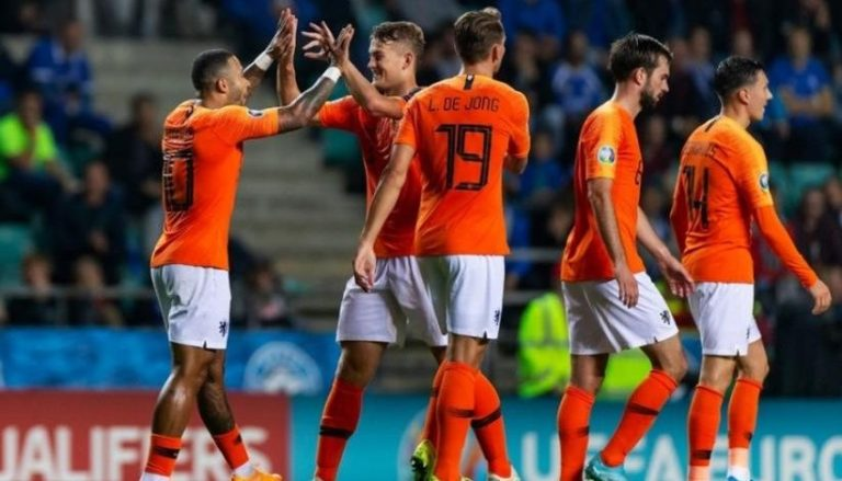 Hasil Pertandingan Belanda vs Estonia: Skor 5-0