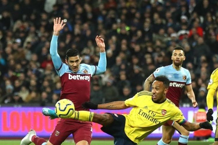 Hasil Pertandingan West Ham vs Arsenal: Skor 1-3