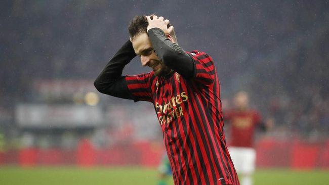 Digulung Atalanta 0-5 Jadi Kekalahan Terburuk AC Milan dalam 21 Tahun