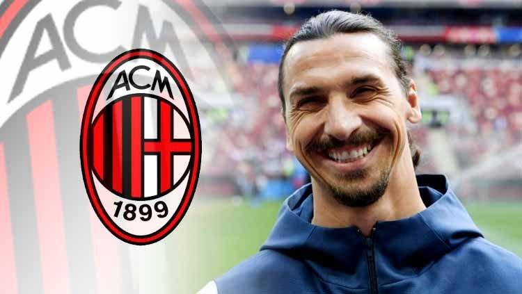 Zlatan Ibrahimovic Kembali ke AC Milan ?