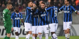 Inter vs Ludogorets Liga Eropa
