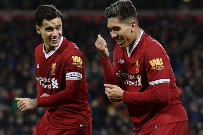 Reaksi Roberto Firmino saat Mengetahui Philippe Coutinho ingin Kembali ke Liverpool