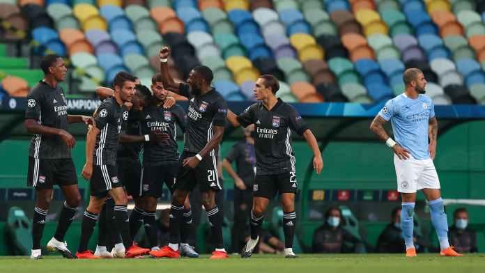 Hasil Pertandingan Manchester City vs Lyon, The Cityzens Lagi-lagi Gagal Lolos Semifinal