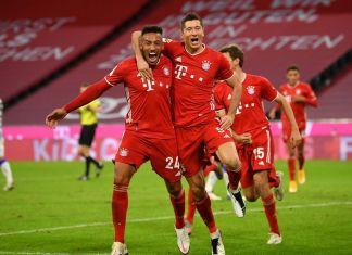 Bayern Munchen vs Hertha Berlin (4-3), Lewandowski Selamatkan Timnya dari Kekalahan