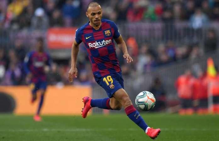 Martin Braithwaite Kenakan Nomor Punggung Luis Suarez di Barcelona
