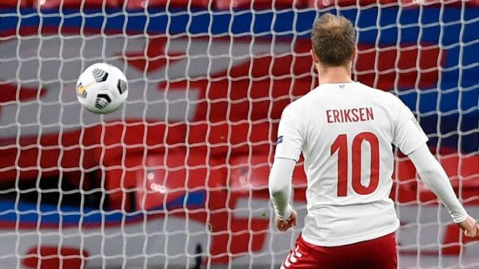 Inggris vs Denmark (0-1), Gol Tunggal Christian Eriksen Bawa Pulang 3 Poin