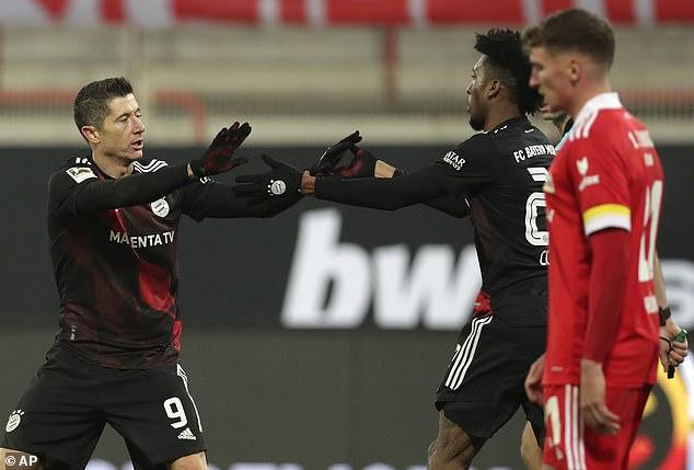 Gol Robert Lewandowski Selamatkan Bayern Munchen dari Kekalahan
