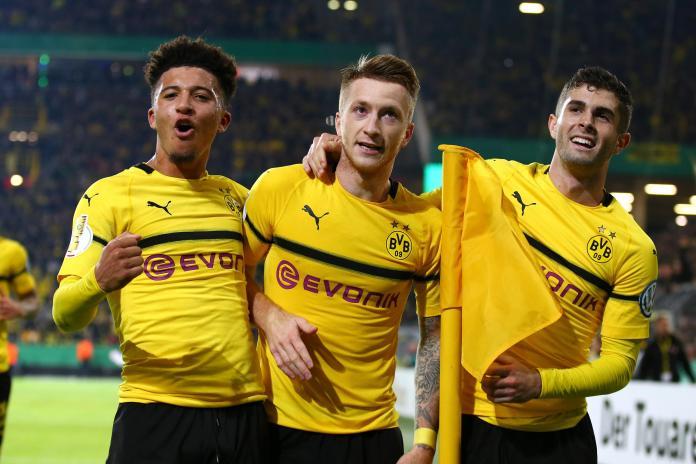 5 Pencetak Gol Termuda Dortmund di Champions League