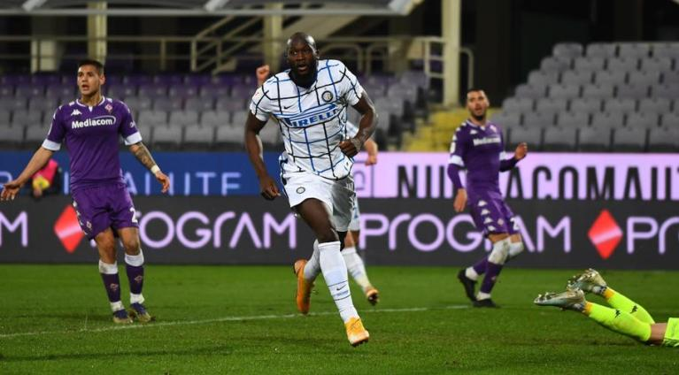 Gol Romelu Lukaku di Babak Tambahan Bawa Inter Milan Menang Atas Fiorentina