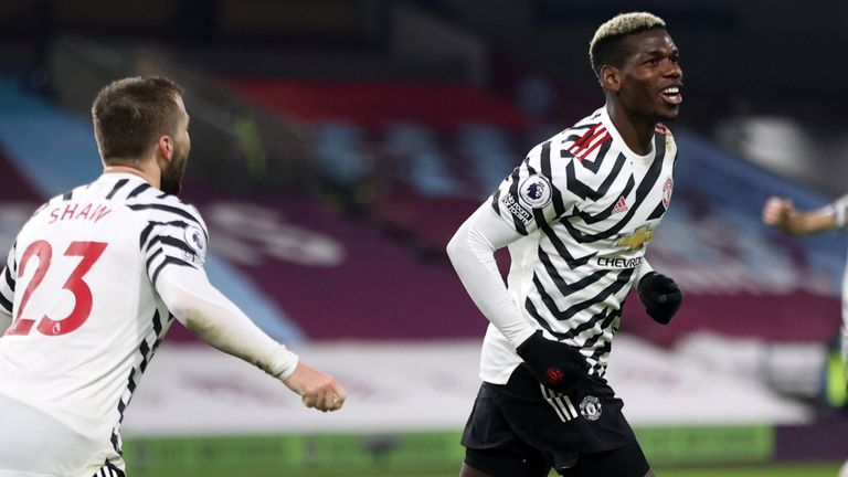 Gol Tunggal Paul Pogba Bawa Manchester United Ambil Alih Pucuk Klasemen Premier League