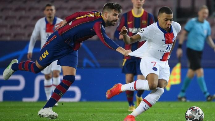 PSG Bantai Barcelona 1-4, Lionel Messi Samai Rekor Raul di Champions League