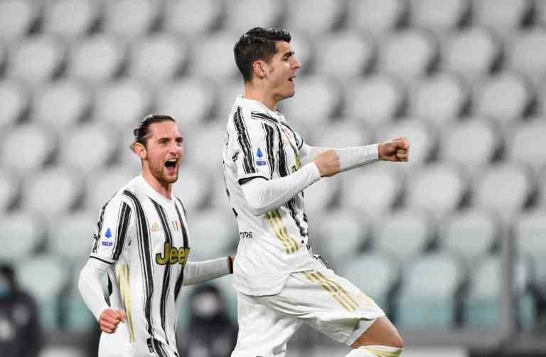Alvaro Morata Sempurnakan Comeback Juventus Atas Lazio