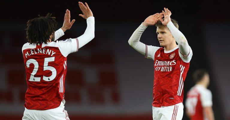 Mohamed Elneny Menganggap Martin Odegaard Sebagai Kapten Masa Depan Arsenal