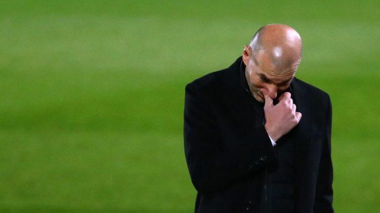 Ditahan Imbang Real Sociedad, Zinedine Zidane Menyesal Ganti Formasi di Babak Kedua