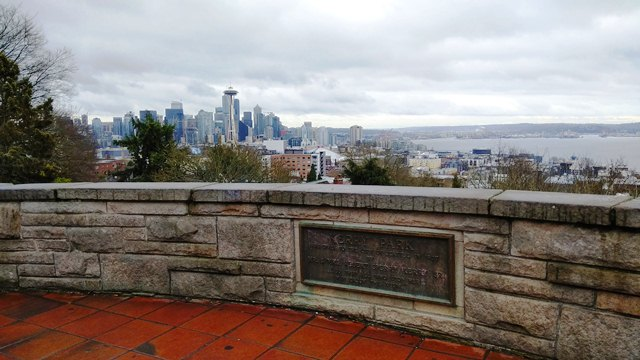 Seattle view from Kerry Park