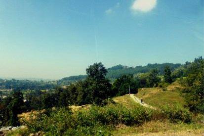 View on the way to Changu Narayan Temple