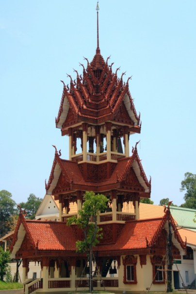 The House of Bells in Wat Ban Na Muang, Ubon