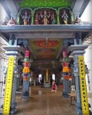 Entrance of Shri Srinivasa Perumal Temple