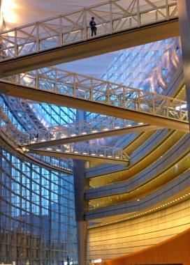 Tokyo International Forum from Ground Floor