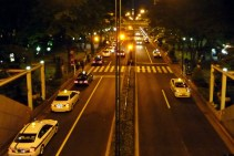Streets around Shinjuku at Night